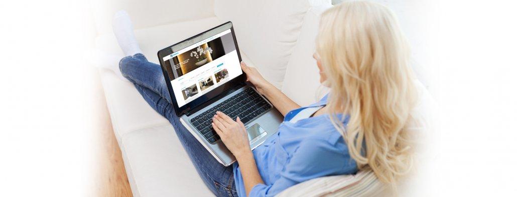 caesar web - Web Design für Hotels - verschiedene Demohotels- modern, strukturiert und auf das Wesentliche konzentriert!
