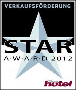 Tophotel Star Award 2012 Silber Verkaufsförderung Auszeichnung