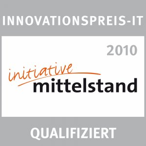 Auszeichnung Initiative Mittelstand 2010 Innovationspreis IT