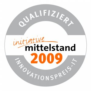 Qualifiziert Initiative Mittelstand 2009 Innovationspreis IT