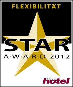 Tophotel Star Award 2012 Gold Flexibilität Auszeichnung