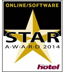 Tophotel Star Award 2014 Gold Online/Software Auszeichnung