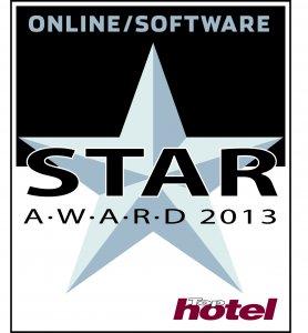 Tophotel Star Award 2013 Silber Online/Software Auszeichnung
