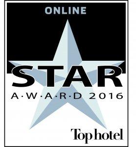 Tophotel Star Award 2016 Silber Online Auszeichnung