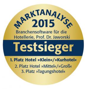 hotline Hotelsoftware Auszeichnung Testsieger Marktanalyse 2015 Universtität Heilbronn