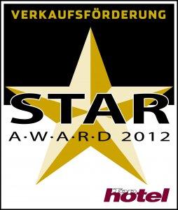 Tophotel Star Award 2010 Gold Verkaufsförderung Auszeichnung