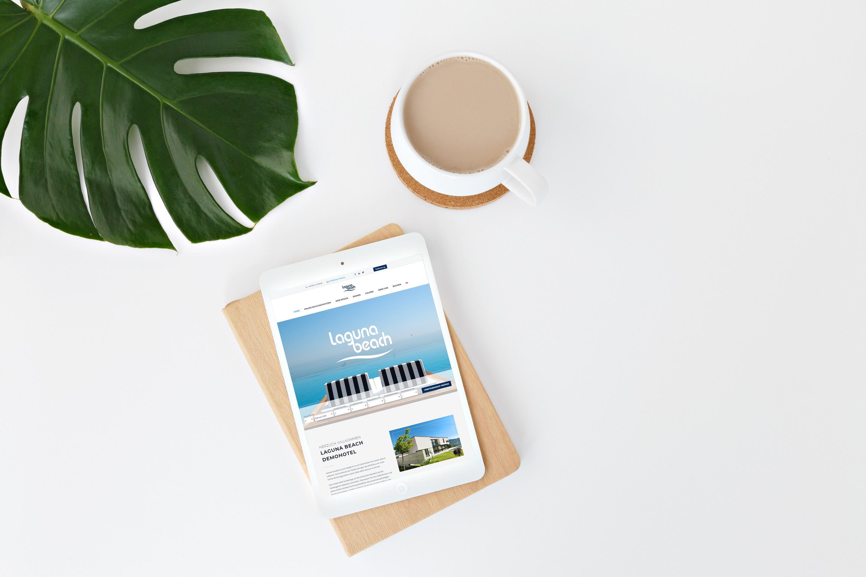 Header Web Design für Hotels caesar data & software SoftTec GmbH