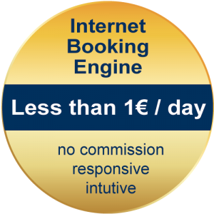 Button caesar data IBE Internet Booking Engine less than 1€