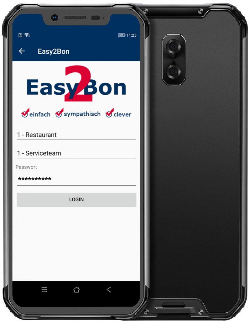 Easy2Bon Kassensystem Restaurantkasse Registrierkasse mobiles Kassensystem SoftTec GmbH