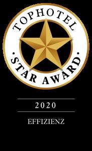 Auszeichnung Tophotel Star Award Gold 2020 hotline Hotelsoftware