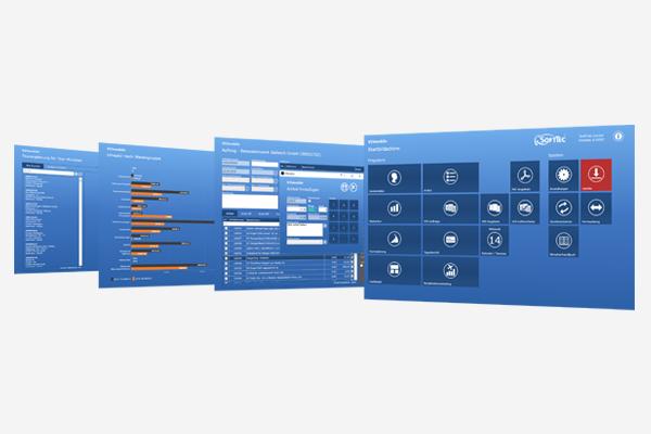 VIS-mobile Außendienst-Steuerung Reisekostenabrechnung Tourenplanung Software Außendienst Controlling SoftTec GmbH