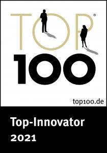 SoftTec GmbH ist Top-Innovator 2021 und erhält das Siegel TOP 100 Award Auszeichnung