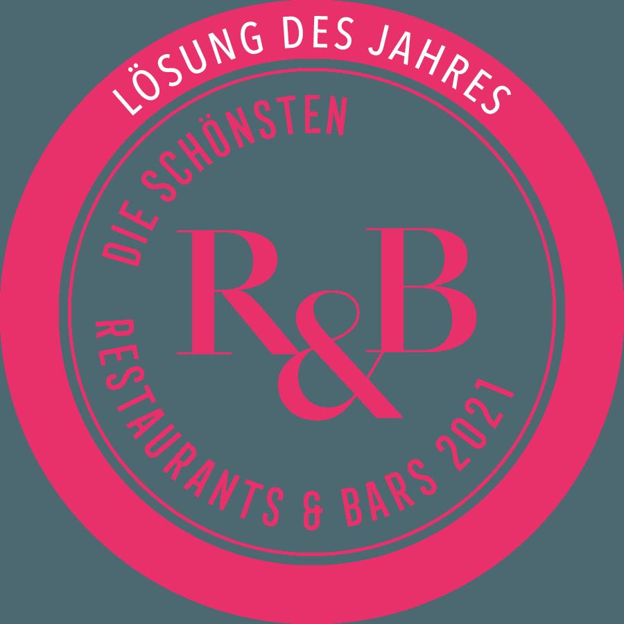 Auszeichnung R&B Designaward Lösung des Jahres 2021 Easy2Bon Kassensysteme