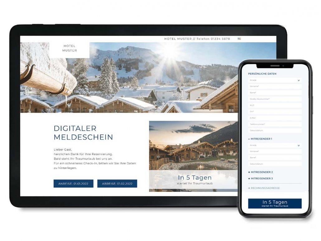IDeFIX digitaler Meldeschein Hotels